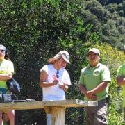 41 jóvenes trabajarán de forma voluntaria durante ocho días en Isla Mocha