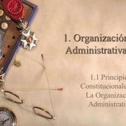 Conozca más acerca de los sistemas de organización administrativa