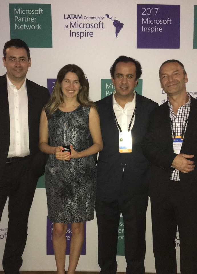 Entre 2800 nominaciones, 3 empresas chilenas son reconocidas como partner of the year