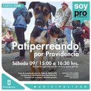 Providencia lanza la primera ruta turística canina