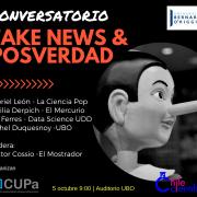 Conversatorio Fake news y Post verdad