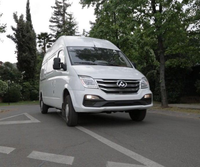 Maxus estrena la EV80: La van eléctrica mas grande del mercado local