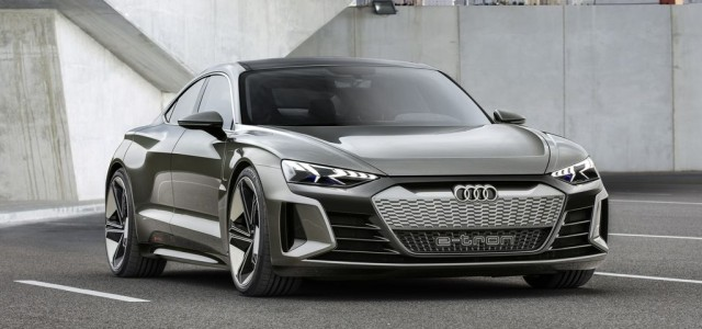 La nuva estrella en la capital del cine: El Audi E-Tron GT Concept