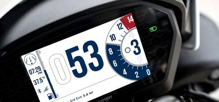 Triumph establece nuevos estándares de conectividad sobre las dos ruedas