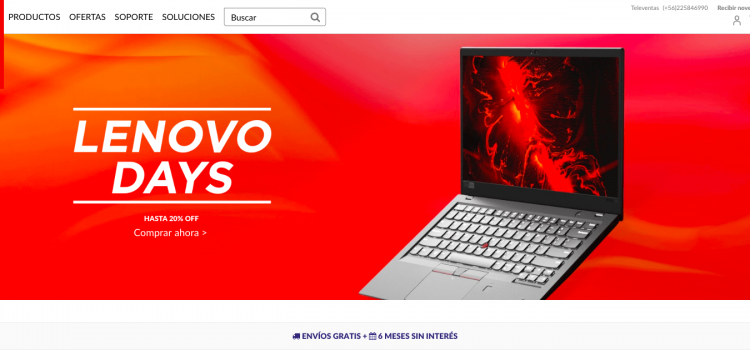 LENOVO CHILE ESTRENA PÁGINA E-COMMERCE CON LINE-UP Y PRECIOS EXCLUSIVOS