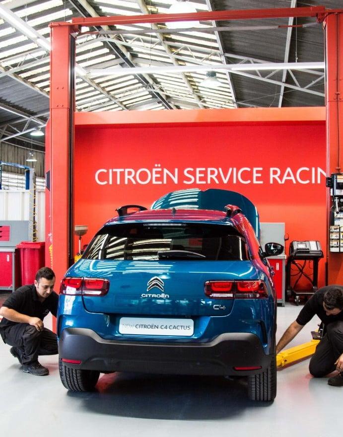 Llega a Chile el programa Citroën Racing: Atención de posventa en tiempo récord
