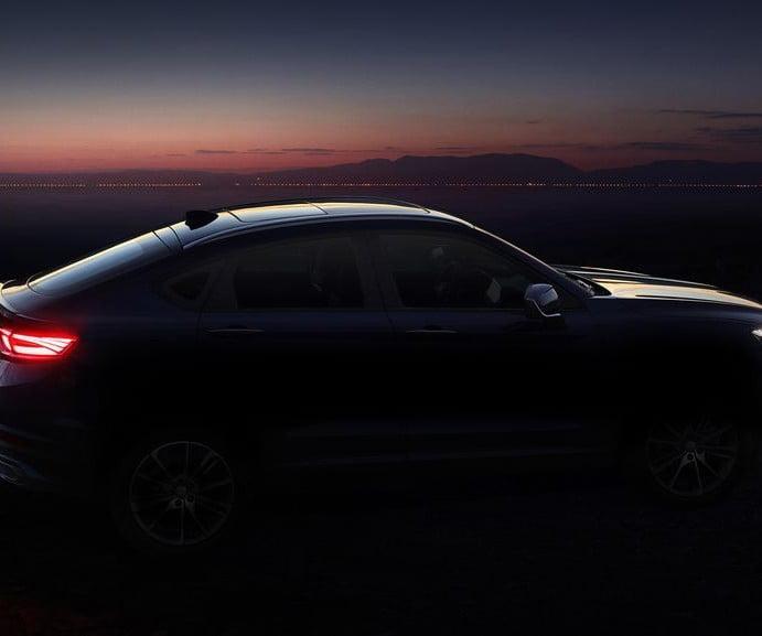 Geely presenta las primeras imágenes de su nuevo SUV coupé