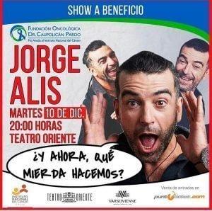 JORGE ALÍS POR EL CÁNCER
